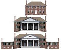 Montpelier's evolution from the 1760s to 1797 to 1810