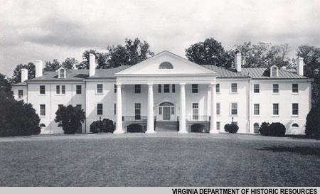 The du Ponts' mansion