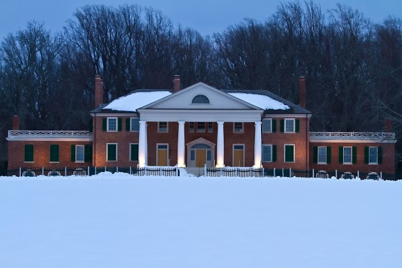 montpelier in the snow
