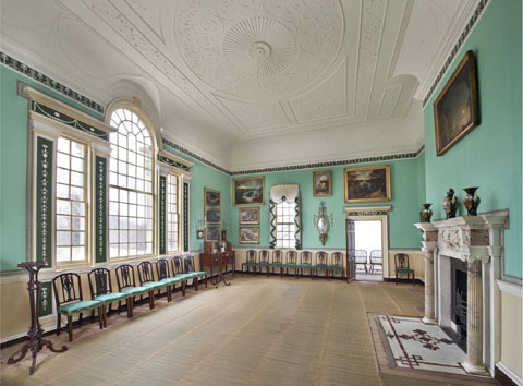 the restored New Room