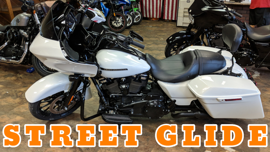 Harley Davidson Street Glide White Motorcycle Rentals in Panama City Beach