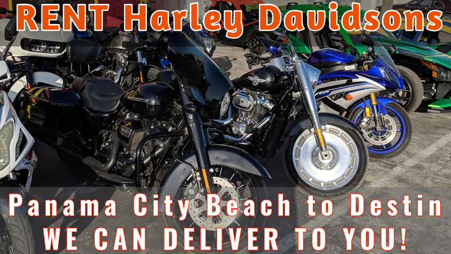Rent Harley Davidson Motorcycles in Panama City Beach