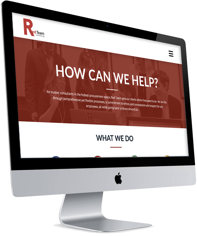 Red Team Consulting Website - J Media Group Projects