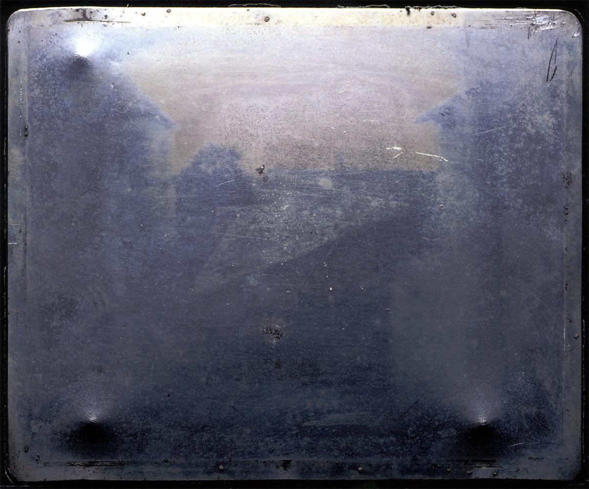 E.Z.M. – 8/6/16 (Joseph Nicephore Niepce, 1826)