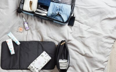 Packing list for travelling with a toddler and a baby