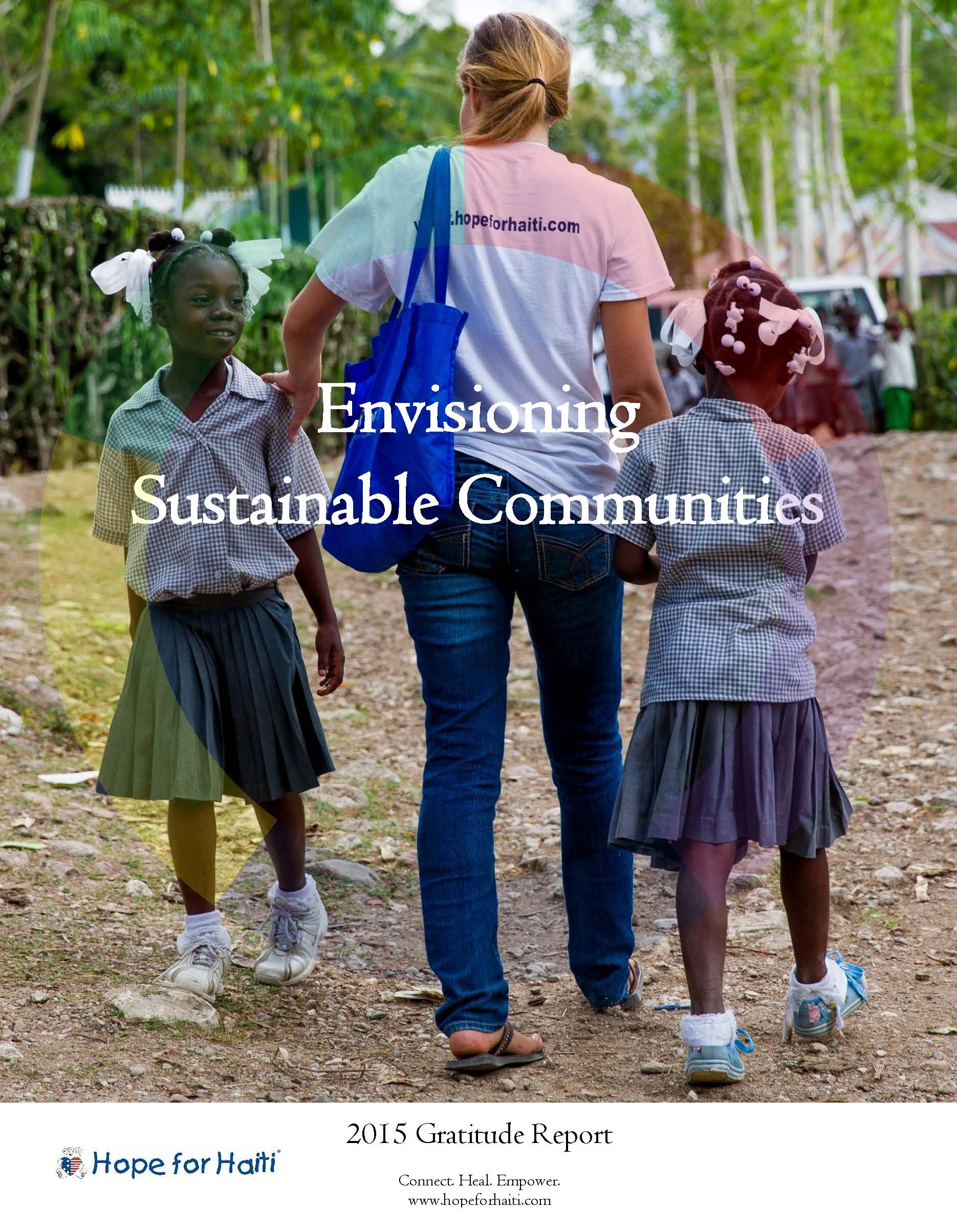 Envisioning Sustainable Communities