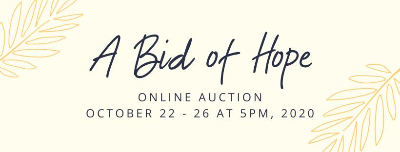 A Bid of Hope Virtual Auction