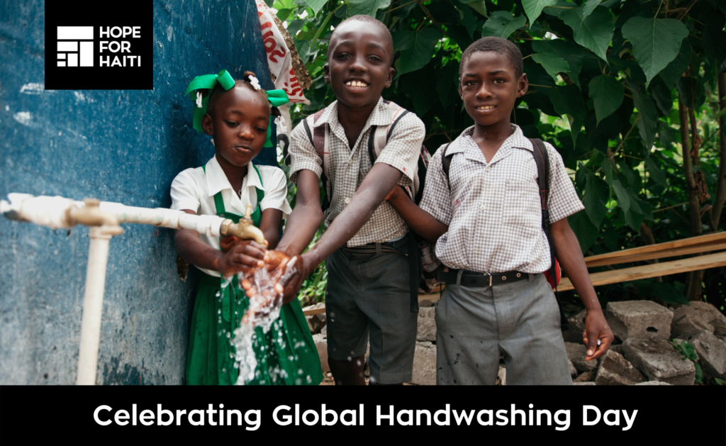 Celebrating Global Handwashing Day