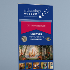Archaeology Museum Pull-Up Banners