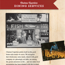 Informational Booklets for Chateau Cupertino