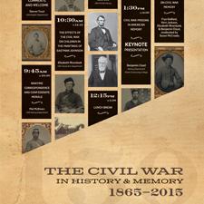 War & Memory Civil War Poster & Invitation