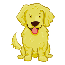 Daisy Dog Mascot and Icon