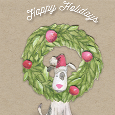 Walks & Wags Holiday Cards
