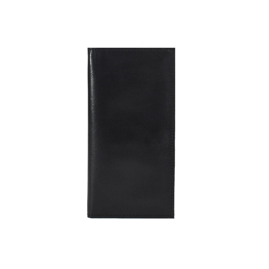Black Deluxe Long Billfold