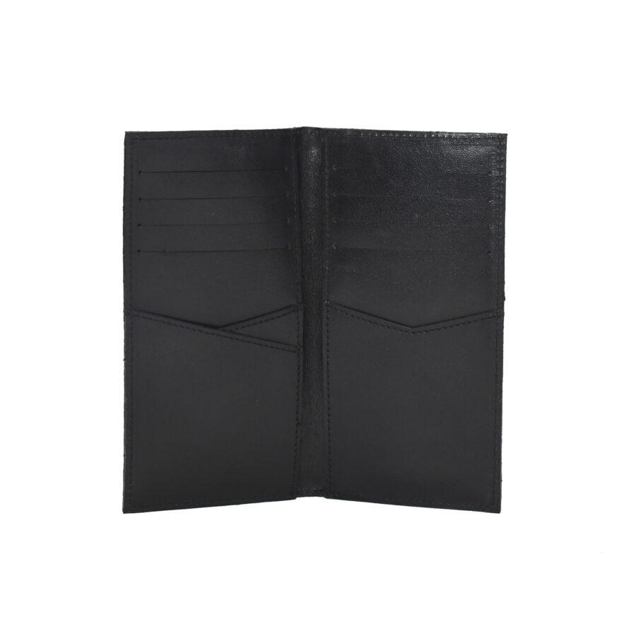 Black Deluxe Long Billfold2