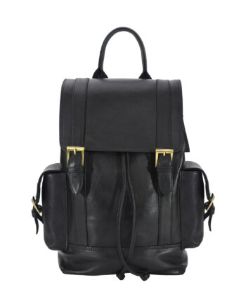 Black Manhattan Backpack