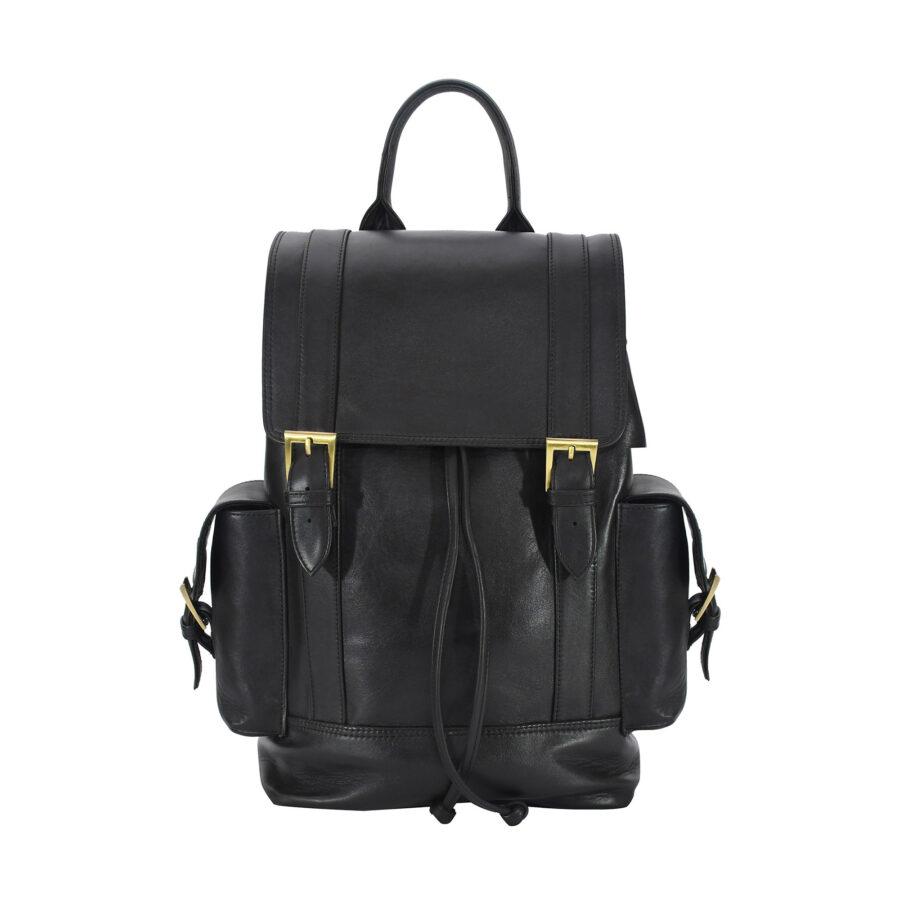 Black Manhattan Backpack
