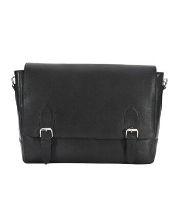 Black Urban Messenger Bag