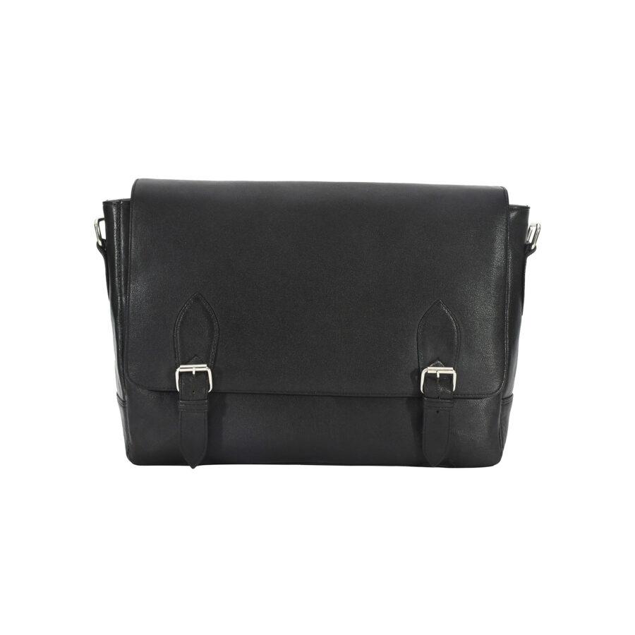Black Urban Messenger Bag