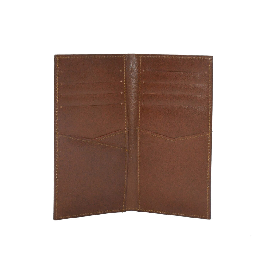 Brown Deluxe Long Billfold
