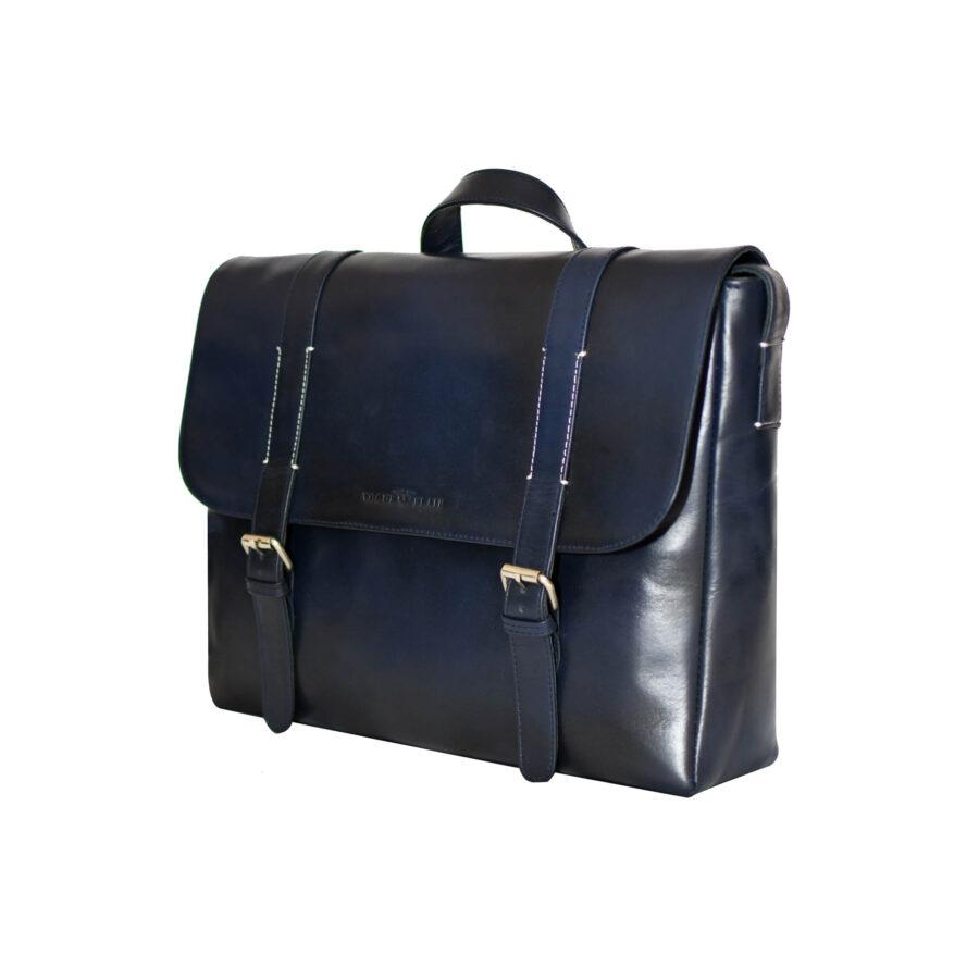 Blue Aura Messenger Bag