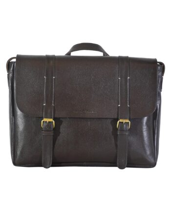 Brown Aura Messenger Bag
