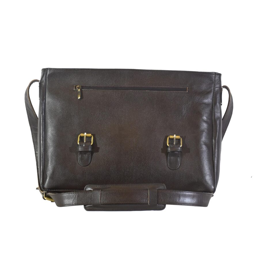 Brown Aura Messenger Bag