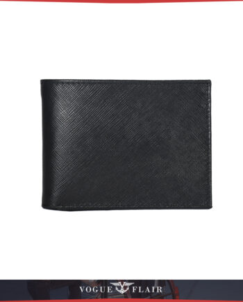 Black Saffiano Leather Billfold