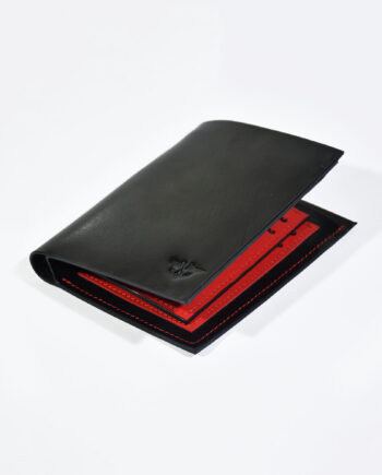 Red Calvin Billfold
