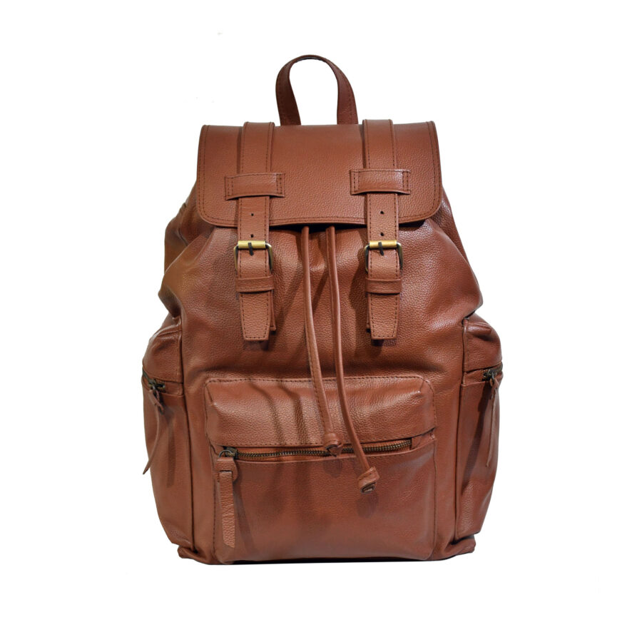 Tan Traveller Backpack
