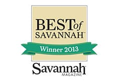 Best of Savannah Winner 2013