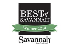 Best of Savannah Winner 2014