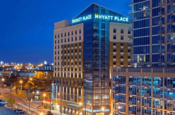 Nashville Hotel Map & Comparison