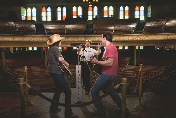 Ryman Auditorium Tour