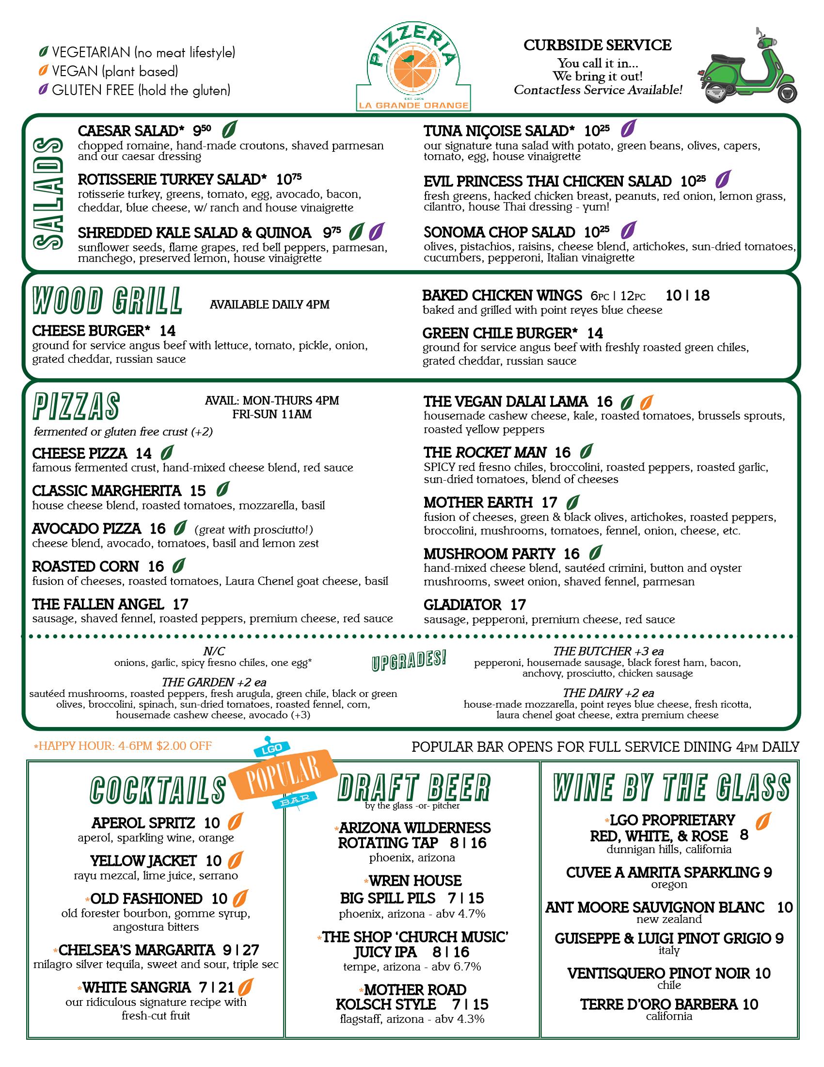 Grocery Menu Pizzeria - 06.04.21
