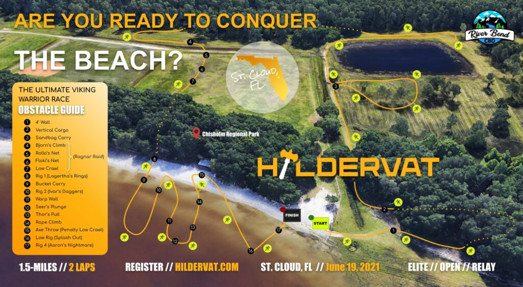 St. Cloud Hildervat race map