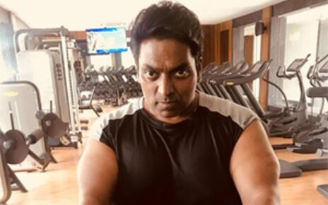 Ganesh Acharya at Gym