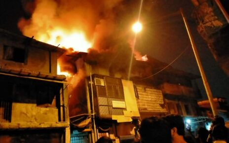 Fire at Bhayander