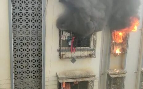 Fire at Mira Road
