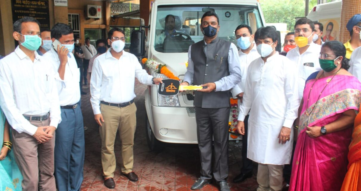 Mira Bhayandar receives Cardiac Ambulance