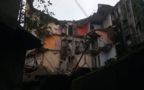 Building collapsed in Bhayandar