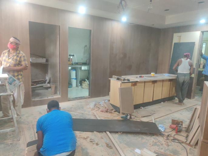 Renovation of deputy mayor office