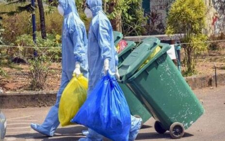 Disposial of COVID-19 waste