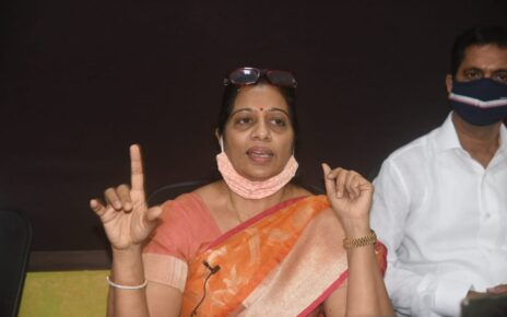 MLA Geeta Jain held Press Conference for indefinite Hunger Strike