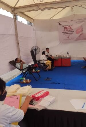 #HusainForAll Blood Donation Camp