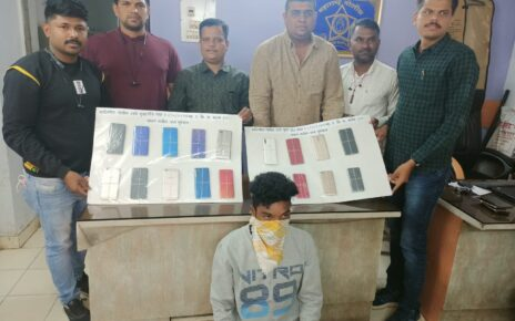 mobile thief arrested, 19 phones recovered
