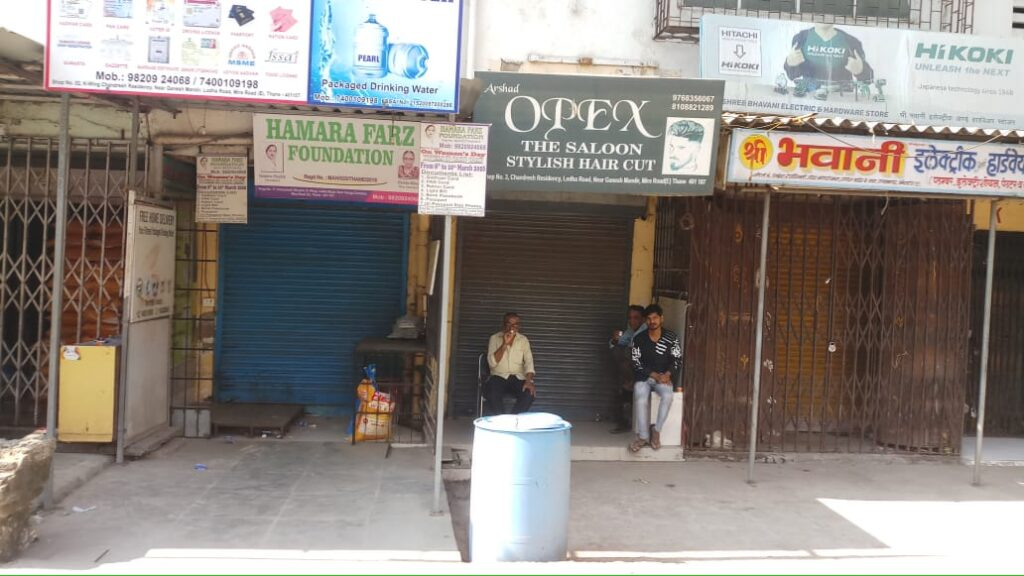 Shops Closed in favour of Bharat Bandh strike called by farmers