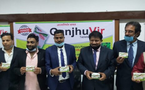 Launching of Ganjhuvir Tablets