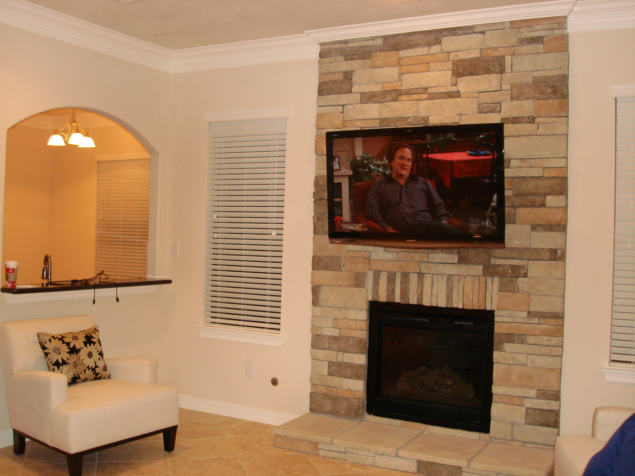 $299.99 TV FIREPLACE INSTALLATION