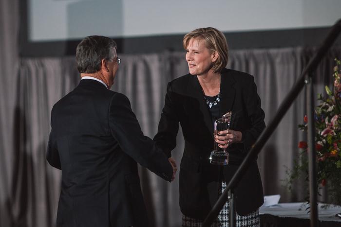 Ron Kimble Kamin Brennan CRVA Partners in Tourism Awards